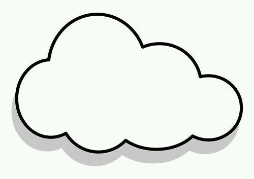 Bulut Sablonlari Bulutlar Resim Dogum Gunu Susleri