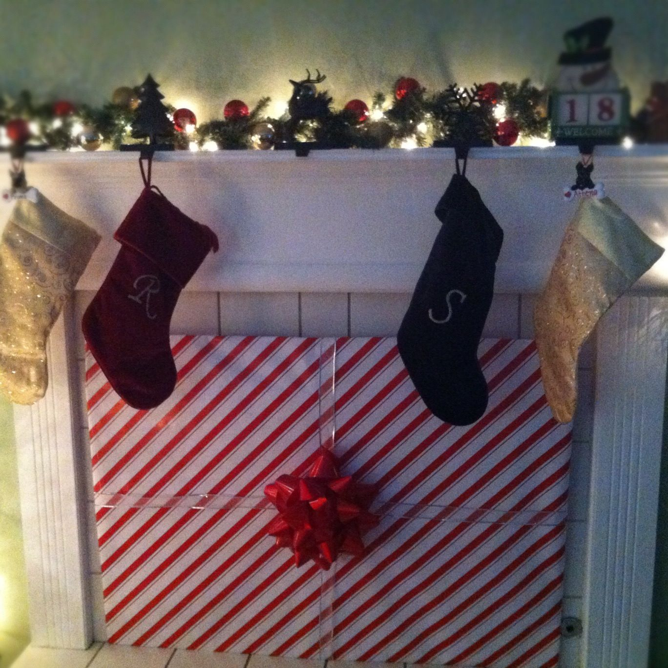 Baby Proofing The Fireplace At Christmas Time