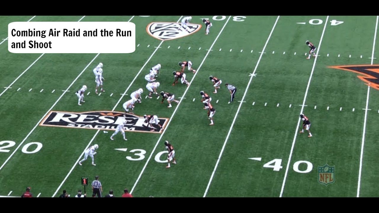 How to Combine the Air Raid and Run and Shoot Football