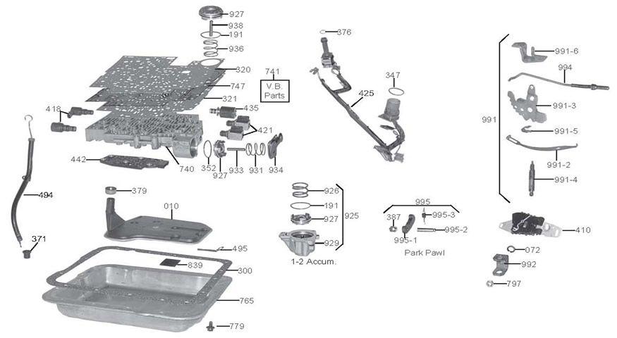 4L60E4L65E Transmission Diagram | Truck Forum | car