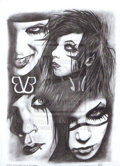 The many faces of Andy Biersack