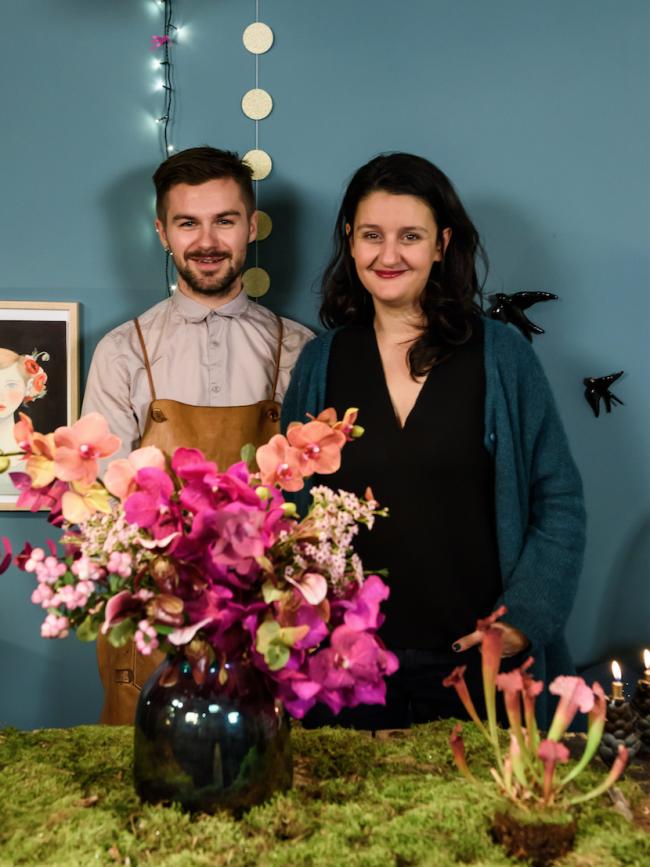 Bouquet final ! #orchidées #fleurs #jefaismonbouquet #love