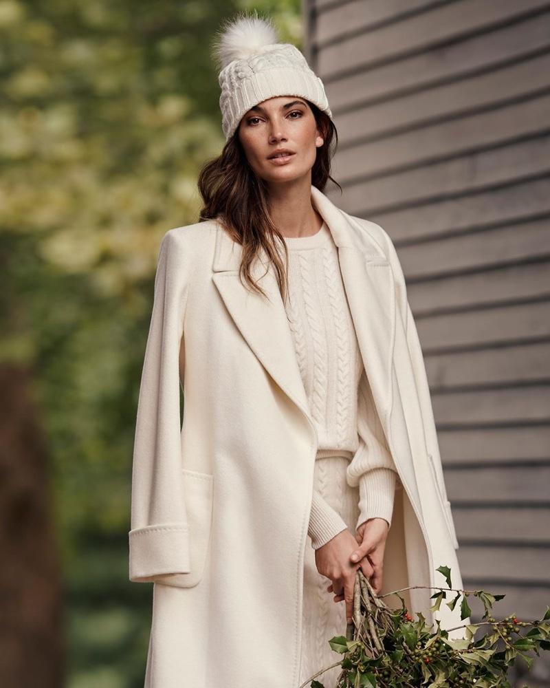 Lily & Ruby Aldridge Get Festive in Lauren Ralph Lauren's Holiday Styles