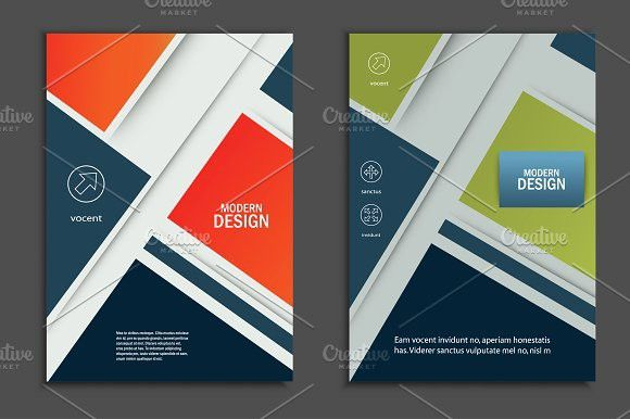 Brochure Design Layout Creative Business Card Templates
