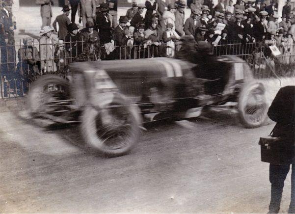 Targa Florio 1924 Alfa Romeo Rl Tf 11 Driver Giulio Masetti