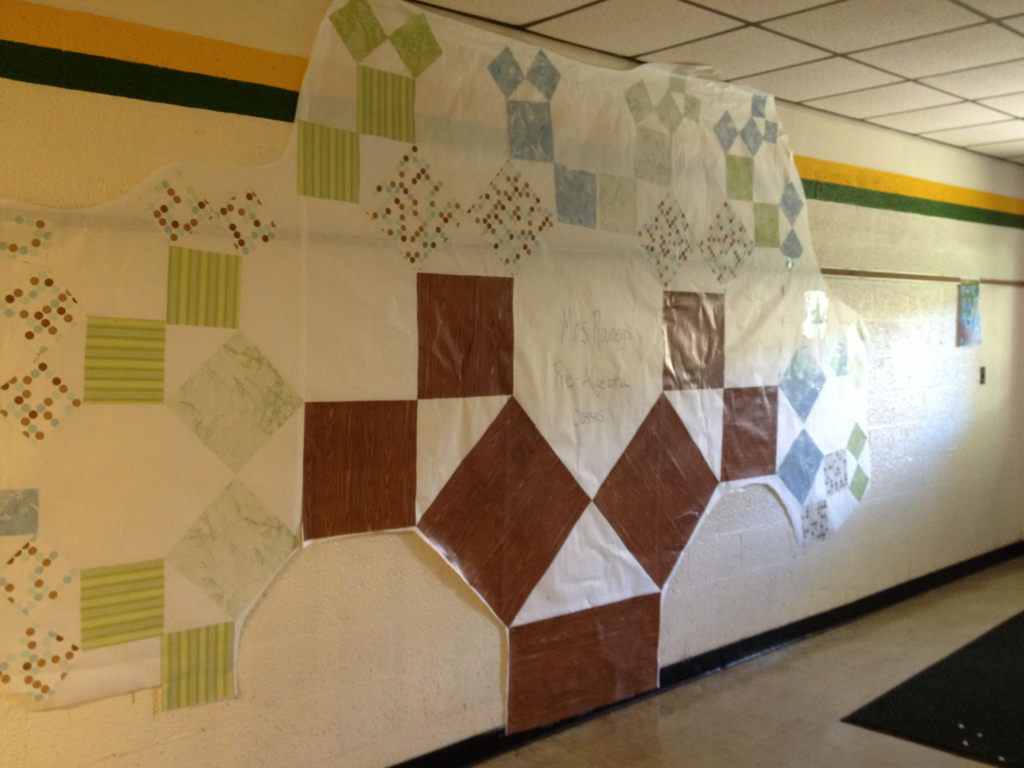 Pythagorean Theorem Fractal Tree My 8th Graders Made