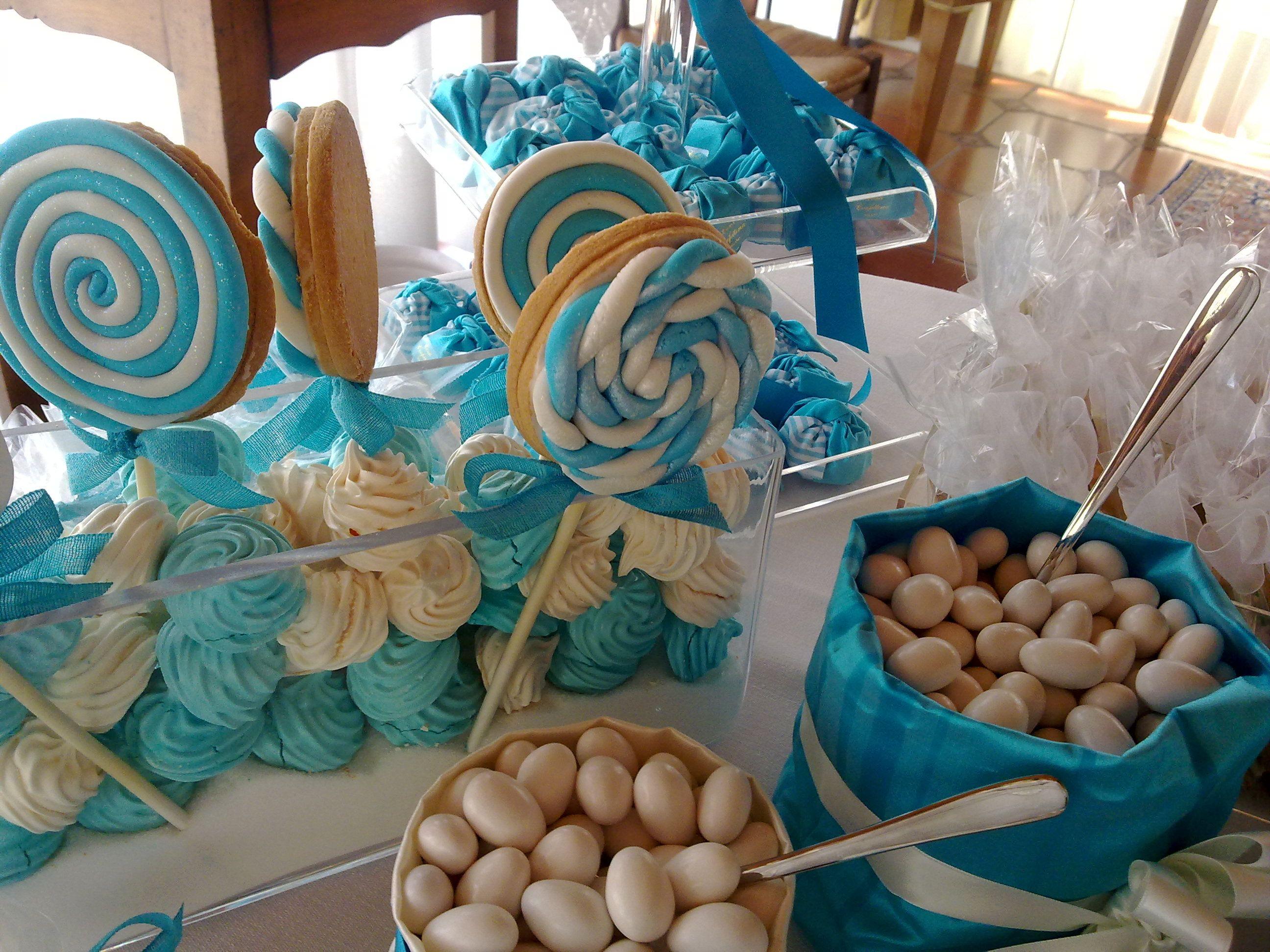 Tavolo Nascita ~ Tavolo dei confetti confetti and candy table