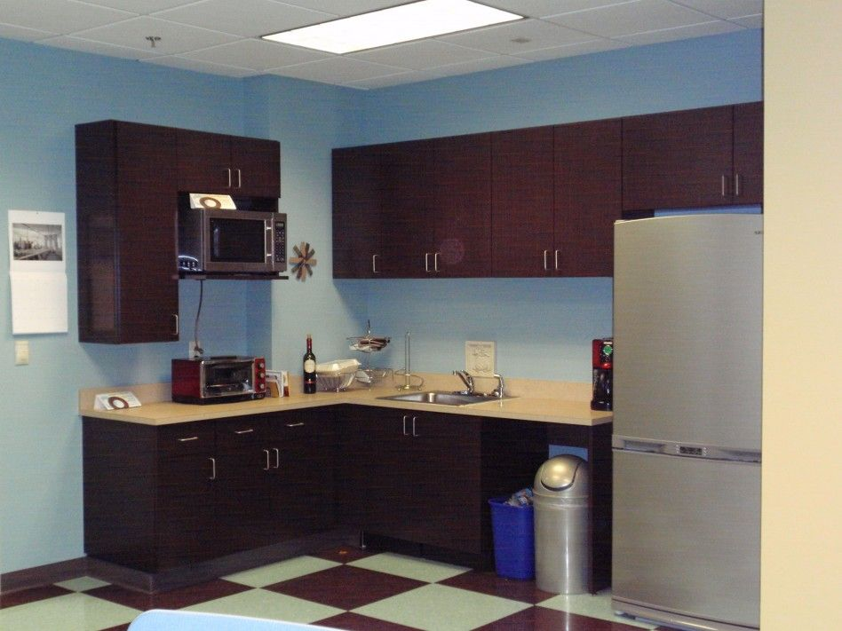 Office workspace incredible office break room ideas and for Office kitchen design