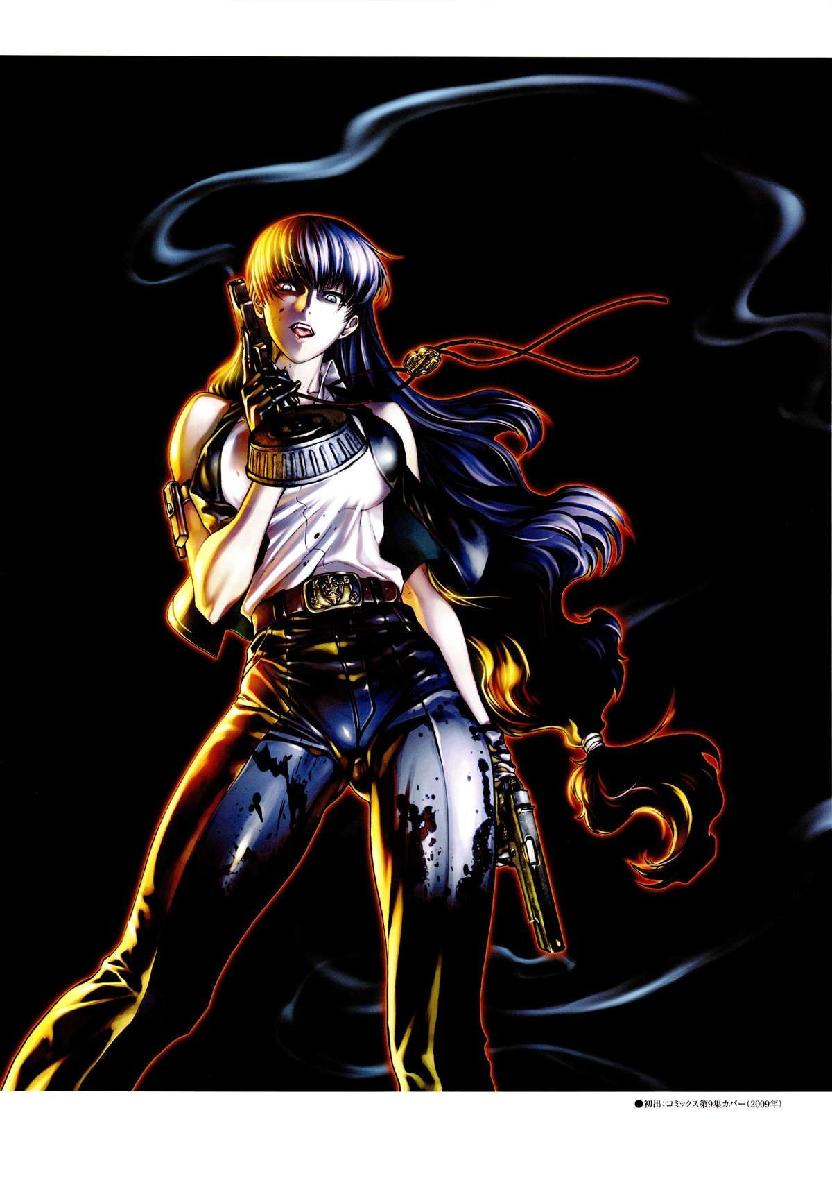 Black Lagoon Anime Canvas Print 20*30 Inch HUGE !