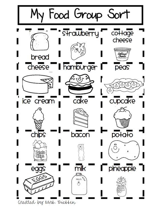 Brilliant Ideas Of Food Groups Coloring Pages Pdf With Additional Download Resume Group Meals Nutrition Activities Preschool Food