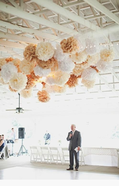 Decorative Balls To Hang From Ceiling Unique Ceiling Decoration For All Of Those Diy Brides Out There