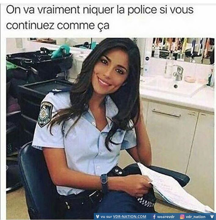 police cherche femme