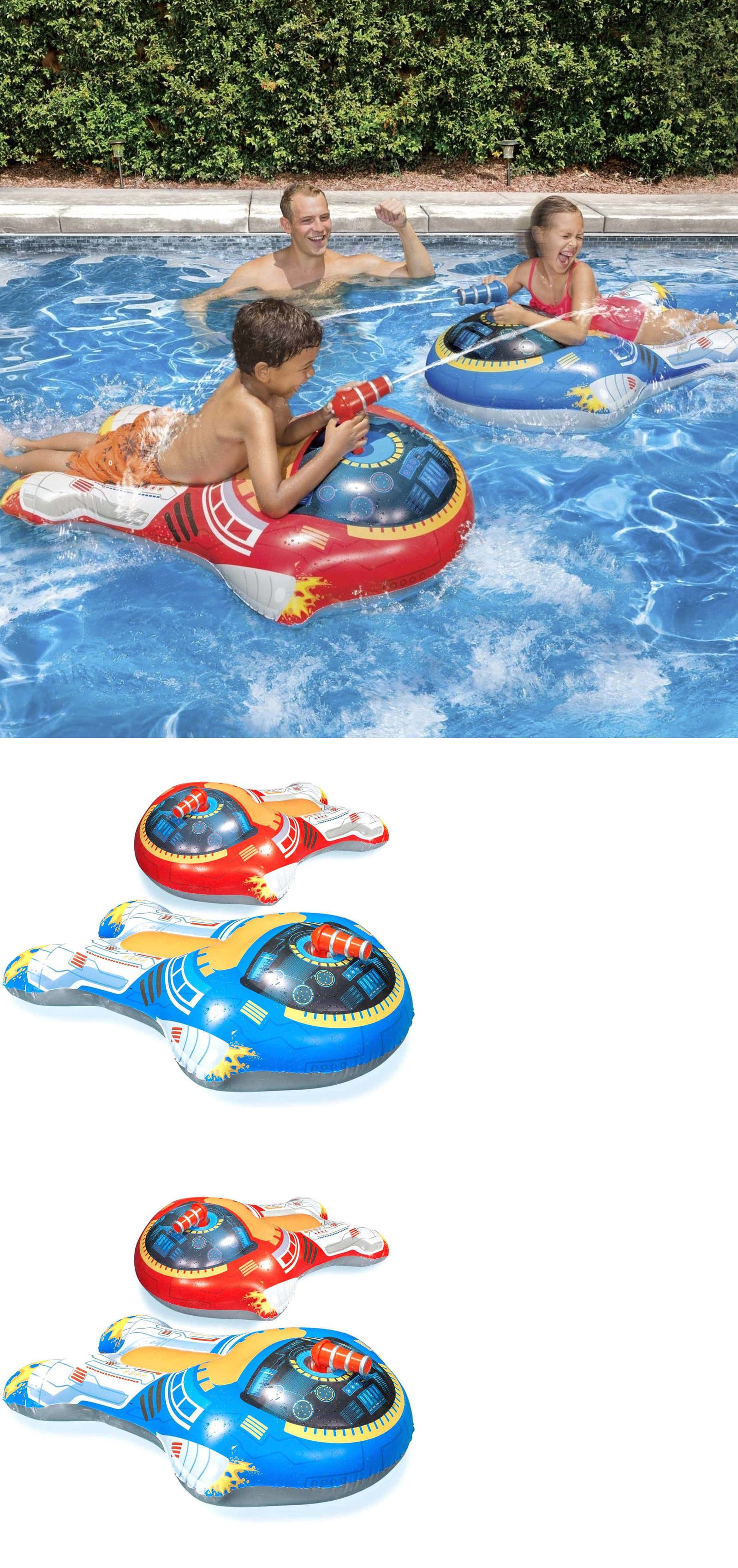 Inflatable and Kid Pools Inflatable Pool Toys 2Pk Floats