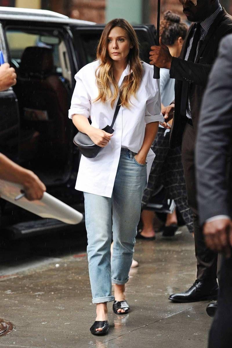 Elizabeth Olsen Wears Vintage Jeans Vintage Jeans Elizabeth Olsen Style Elizabeth Olsen