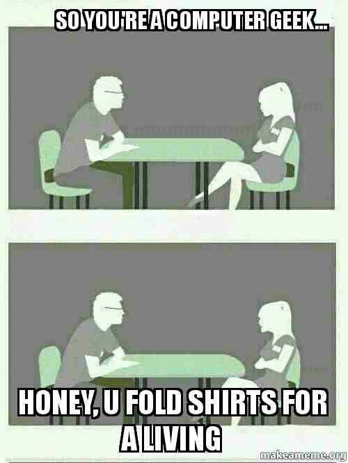 Geek speed dating questions