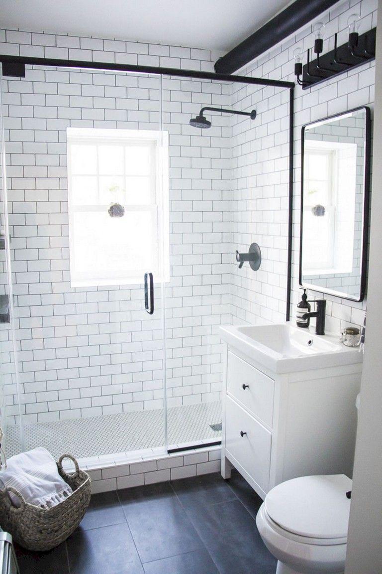 55 Luxury White Bathroom Vanity Ideas Bathroomideas Bathroomdecor Bathroomremodeling Small Bathroom Remodel Bathroom Remodel Shower Bathroom Design Small
