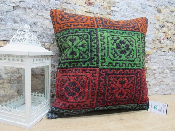 decorative pillow / home decor pillow / naturel pillow / 20x20 throw pillow / floor cushion / bohemi