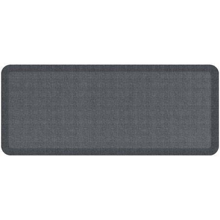 Newlife By Gelpro Designer Comfort Kitchen Floor Mat 20x48 Tweed Nickel Grey Size 20 Inch X 48 Inch Gray Kitchen Flooring Floor Mats Flooring