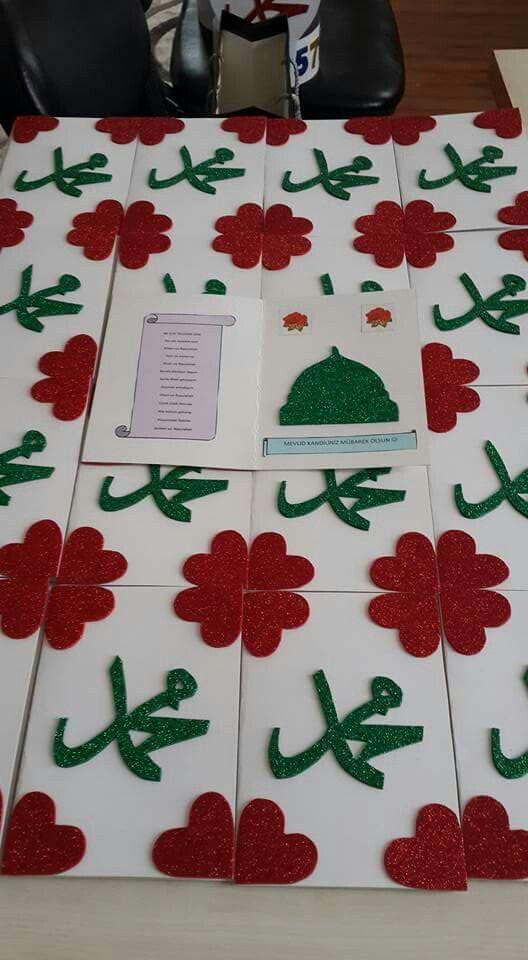 Mevlid Kandili Kartları Değerler Eğitimi Pinterest School