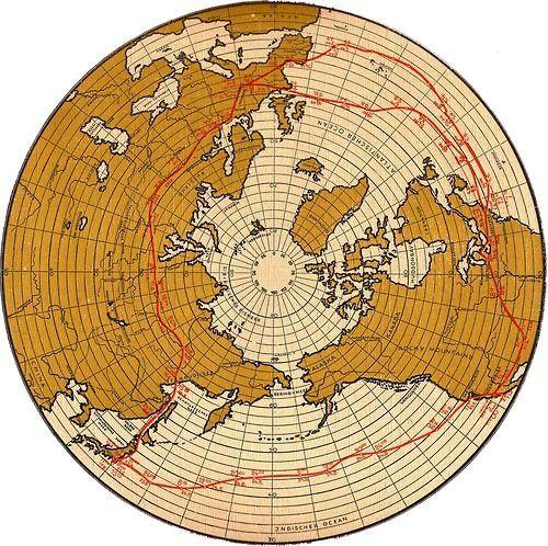 Httpsgooglesearchqworld20mapsourcelnmsund graf zeppelin round the world flight map 1929 gumiabroncs Images