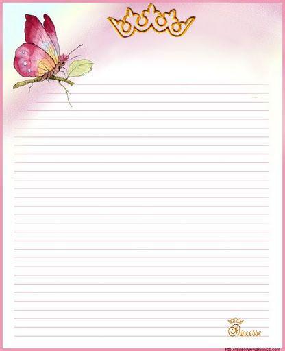 papier_a_lettre_1 eleves Pinterest Réussir, Lettres et Papier - repeindre du papier peint