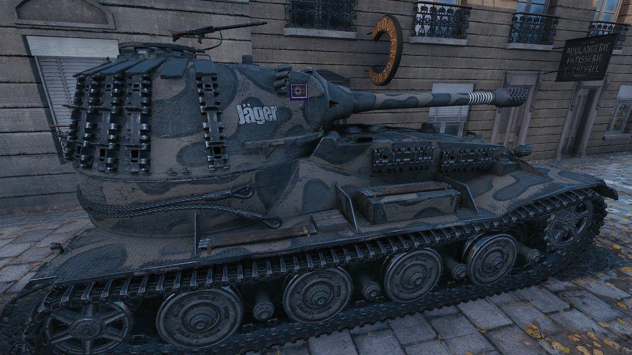 VK 72.01 (K) World of Tanks gameplay World of tanks