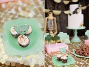 Idea for Smores Cupcakes