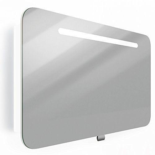 Spiegelschrank LED Badschrank hochglanz Badezimmerspiegel   - badezimmerspiegel mit led
