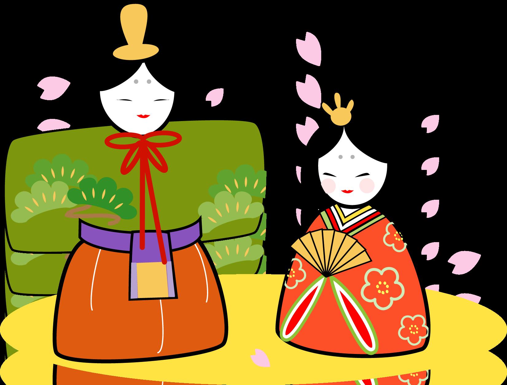 ひな祭り ひな人形 イラスト Google 検索 Japanese Culture