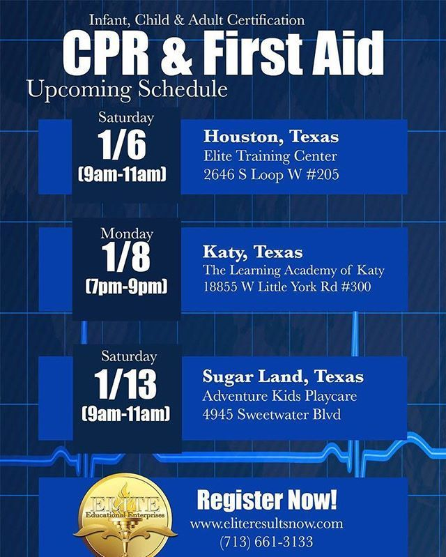 Cpr And More Houston Best More 2017