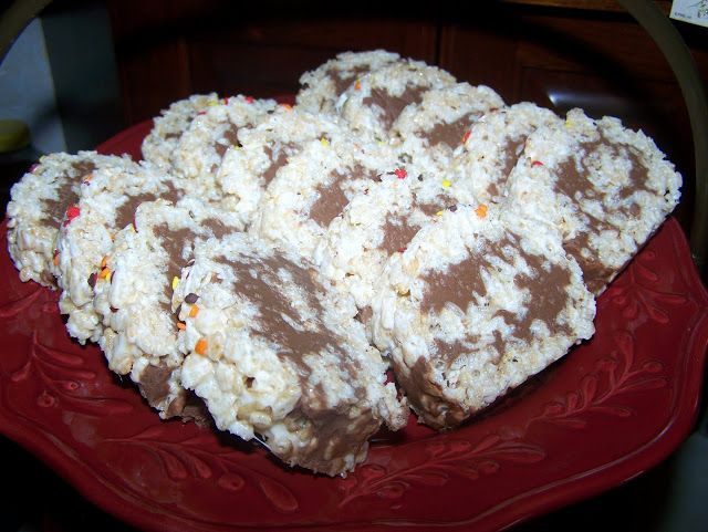 Rice Krispy Rollups