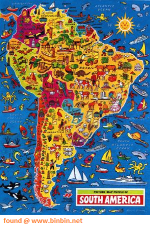 Map Of America Jigsaw.Picture Puzzle Map Of South America Jigsaw Puzzle By Jr Puzzles
