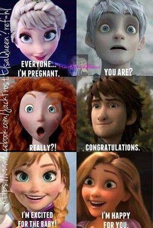 Elsa's pregnant.. again - Rise of the Frozen Brave Tangled Dragons ...