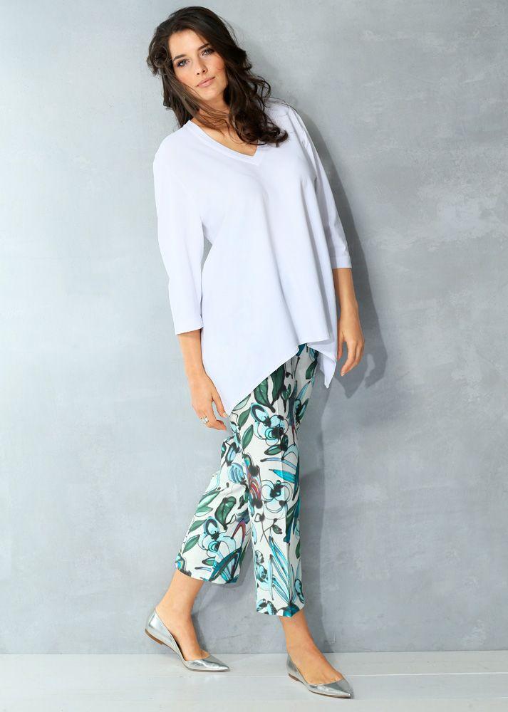 Shirt Art. 71001720 #weiß #white #plussizefashion #mode