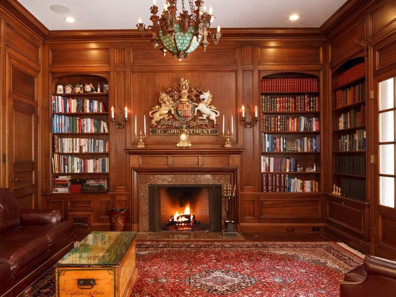 It Is The Library At The Asid Showcase Home And Was Designed By Angela Parker