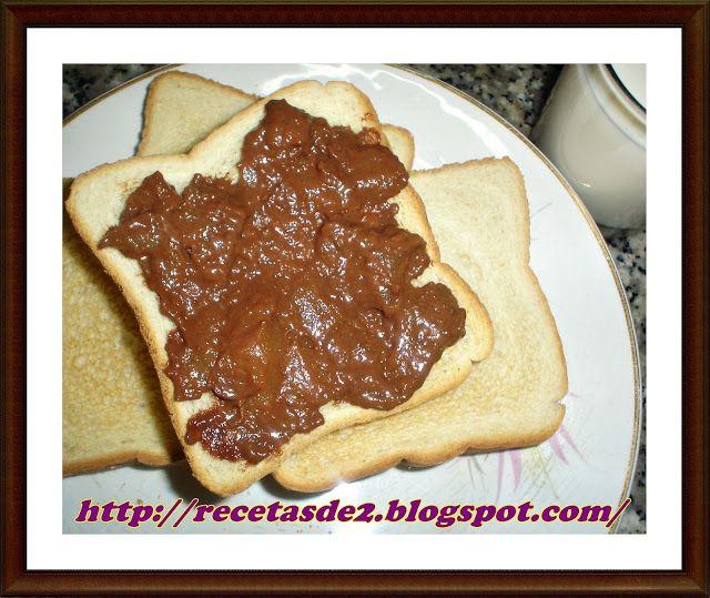 Mermelada de Pera y chocolate con canela