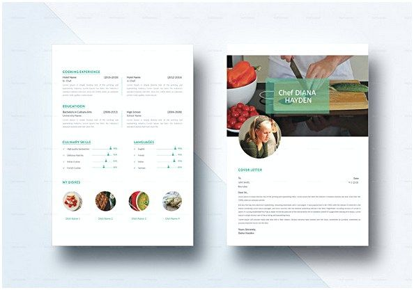 Simple Chef Resume Template  Hotel And Restaurant Management