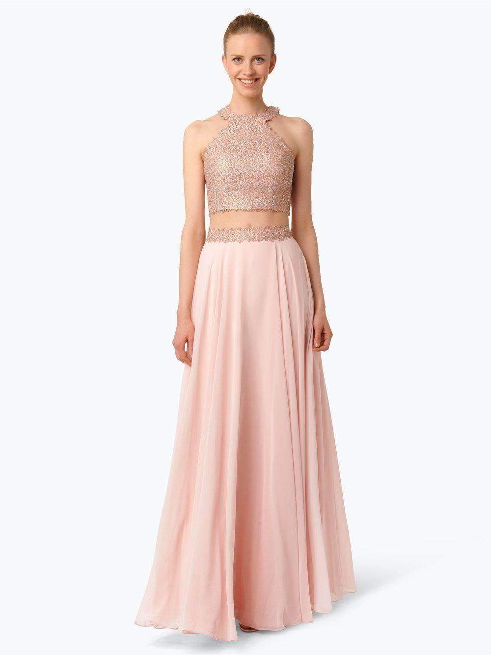 Luxuar Fashion Abendkleid beige  Luxuar fashion, Abendkleid
