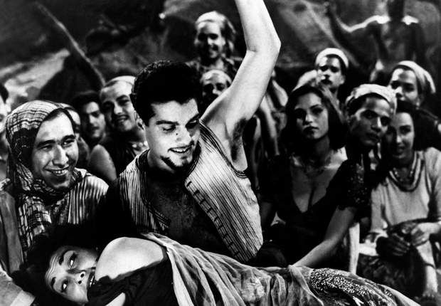 """""""Le démon du désert"""" (1954) avec Myriam Fakhr,"""