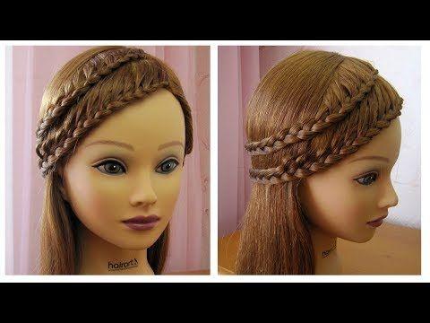 Belle coiffure facile à faire cheveux long/mi long