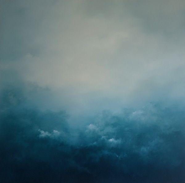 Hemisphere Oil On Canvas 142cm x 142cm by Dion Salvador Lloyd www.dionsalvador.co.uk