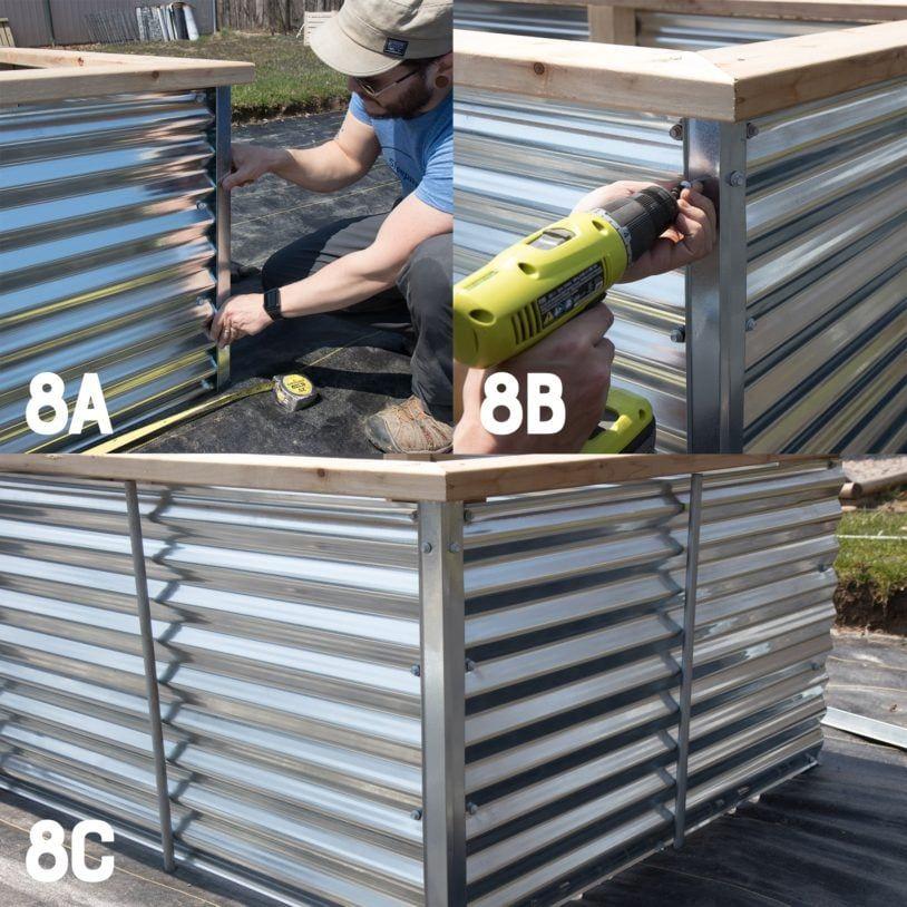 Raised Garden Bed Construction: Galvanized Steel Raised Garden Bed Plans And Tutorial