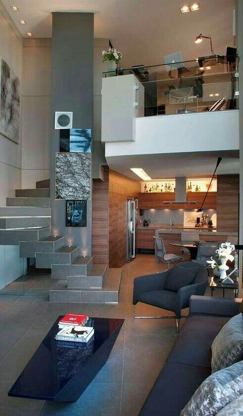 Charmant Moderne Hausentwürfe, Moderne Häuser, Haus Interieurs, Lofts, Lab,  Dekoideen Für Die Wohnung, Magazin, Innenarchitektur, Grautöne