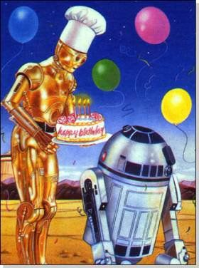 Joyeux anniversaire star wars gouter anniversaire - Bon anniversaire star wars ...