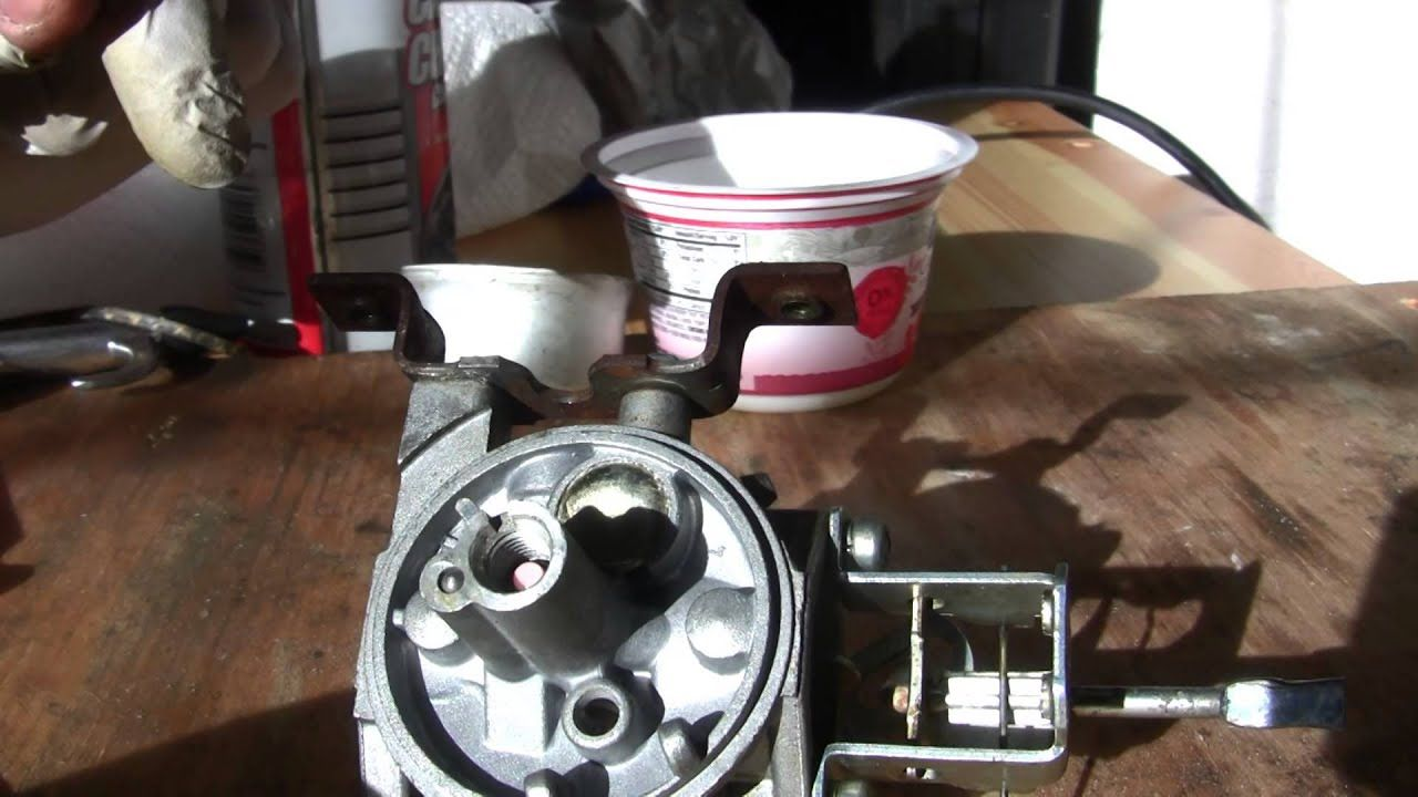 How To Clean Tecumseh Snow King Carburetor Tecumseh
