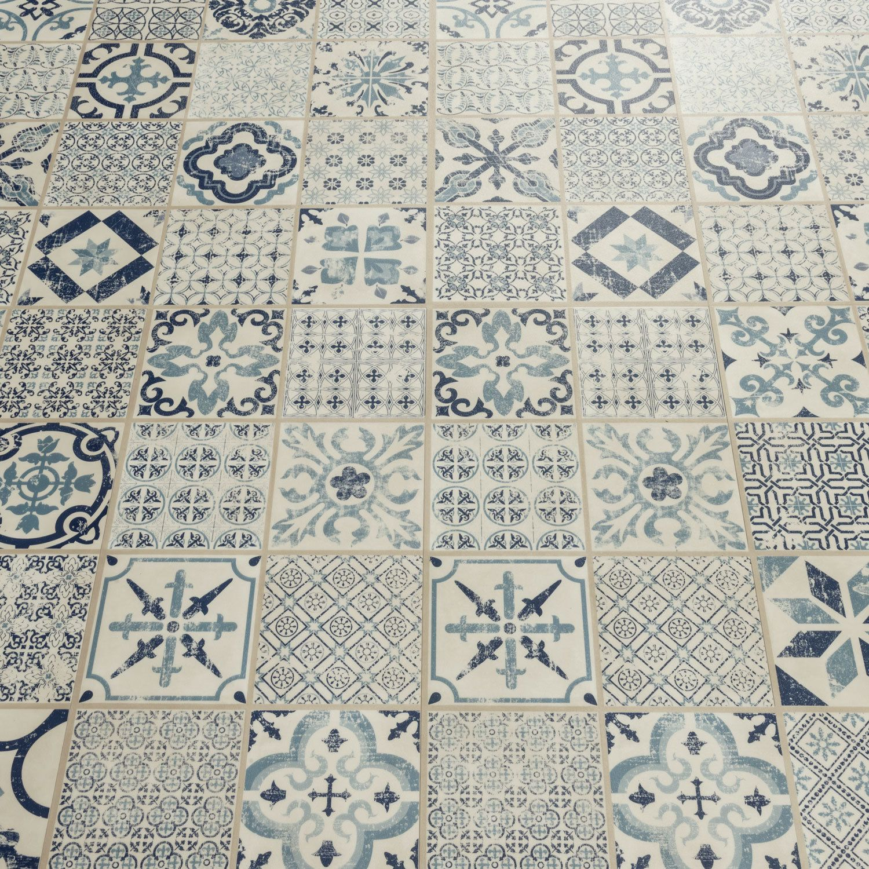 Starfloor Tile Retro Indigo Luxury Vinyl Tile Retro