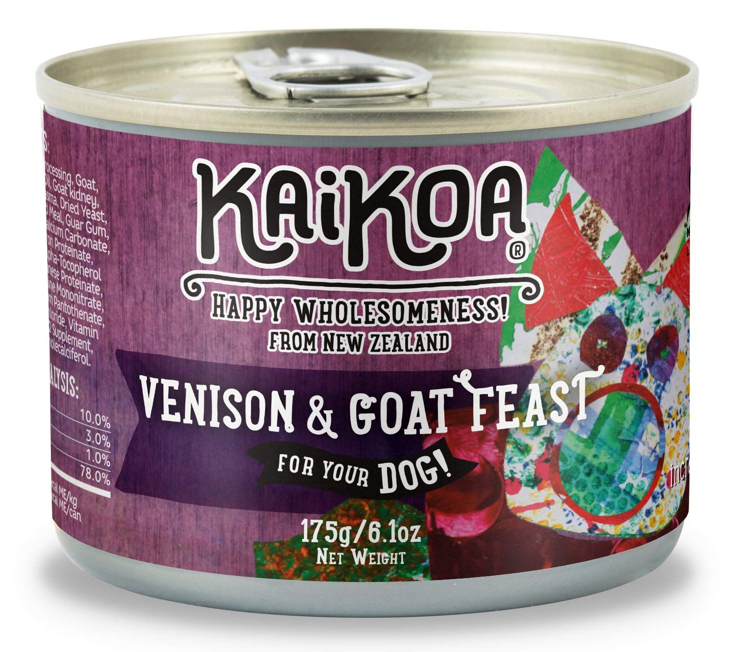 Kaikoa wet canned food for dogs from new zealand you