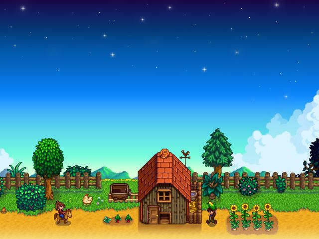 Collection Of Stardew Valley Game Hd 4k Wallpapers Background Photo And Images Stardew Valley Pixel Art Valley Game