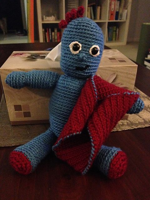 Iggle Piggle from the Night Garden pattern by Melanie Loy | Night ...