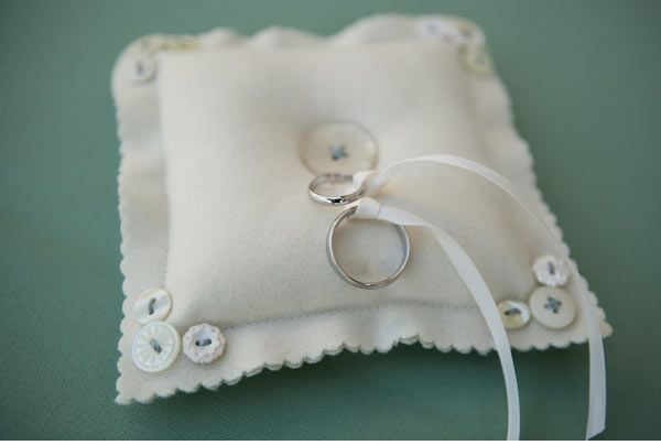 A Darling Handcrafted Wedding Ring pillows Ring pillow wedding